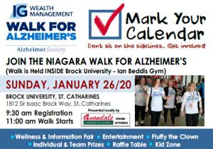 Walk for Alzheimer's @ Brock University | St. Catharines | Ontario | Canada